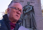 "Bernie Francis reads ""In Flanders Fields"" in Mi'kmaq"