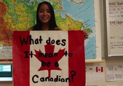 #StandForCanada Youth Challenge: Grade 9 students at West Vancouver Secondary School