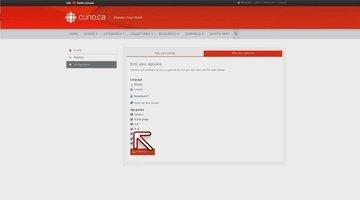 Curio.ca Tutorial: Account Configuration and Statistics