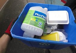 The dirty business of sorting your recycling bin