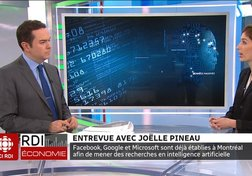 Intelligence artificielle : entrevue avec Joëlle Pineau