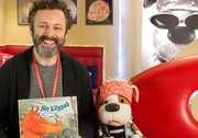 Sir Lilypad with Michael Sheen