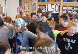 #StandForCanada Youth Challenge: Grade 3/4 students at Queen Mary Elementary School