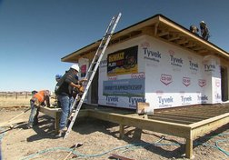 Search for housing solutions on Piikani Nation turns to tiny homes