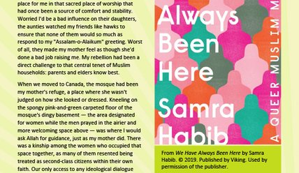 Canada Reads 2020: We Have Always Been Here excerpt (PDF)