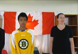 #StandForCanada Youth Challenge: Grade 8 students at A.J. Smeltzer Junior High