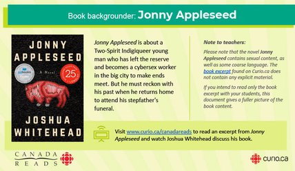 Canada Reads 2021: Backgrounder on Jonny Appleseed (PPT)