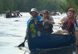 Jesuits, First Nations Participate in Reconciliation Canoe Trip