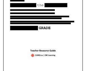 Faking the Grade Teacher Resource Guide
