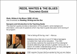 Reds, Whites and the Blues Teacher Resource Guide