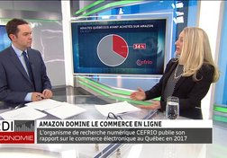 Amazon domine le commerce en ligne