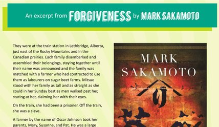 Canada Reads 2018: Forgiveness excerpt