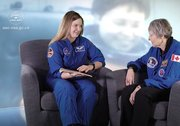 A memorable meeting between Jennifer Sidey-Gibbons and Roberta Bondar