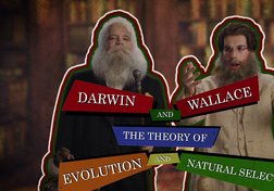 The work of Charles Darwin and Alfred Wallace
