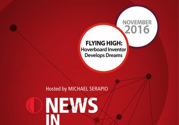 NIR-16-11 - Flying High: Hoverboard Inventor Develops Dreams