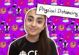 What is physical distancing?