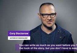 The First Page: Cory Doctorow