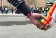 UCP's gay-straight alliance plan sees Alberta students walk out in protest