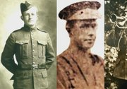 Three First World War soldiers identified as Canadians
