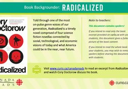Canada Reads 2020: Backgrounder on Radicalized (PDF)