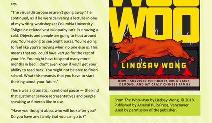 Canada Reads 2019: The Woo-Woo excerpt (PDF)