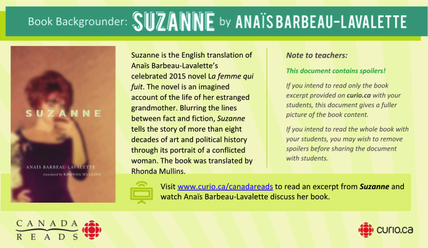 Canada Reads 2019: Anaïs Barbeau-Lavalette on Suzanne