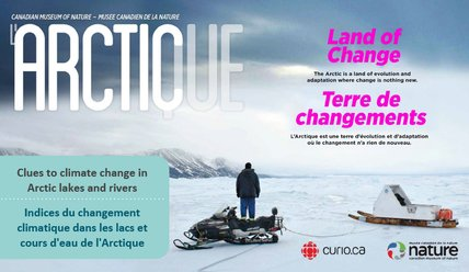 Clues to climate change in Arctic lakes and rivers