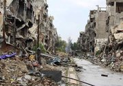 Rare access inside war-torn Syria