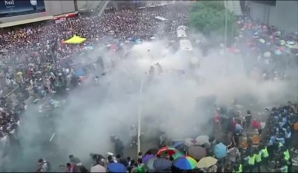 Hong Kong: The Umbrella Revolution