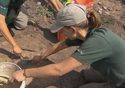 Archeologists find treasure in aftermath of Alberta fire