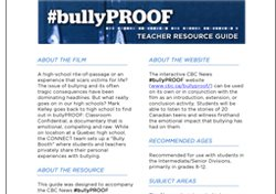 bullyPROOF Teacher Resource Guide