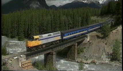 En voiture! Le train au Canada