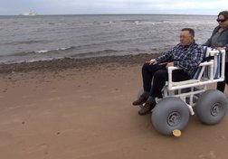 How summer beach fun is being made accessible for the disabled