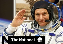 David Saint-Jacques checks in from outer space
