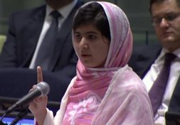 Malala: Youngest Nobel Peace Prize Winner
