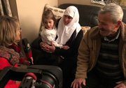 Syrian refugee family reunites with parents in Canada