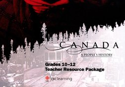 Canada A Peoples History TRP Grades 10 To 12