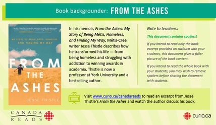Canada Reads 2020: Backgrounder on From the Ashes (PPT)