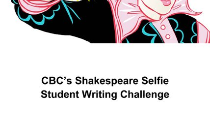 Shakespeare Selfie teacher guide