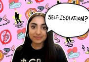 What does it mean to be self-isolated?