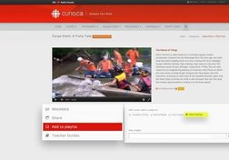 Curio.ca Tutorial: Sharing Content and Using Playlists