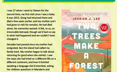 Canada Reads 2021: Two Trees Make a Forest excerpt (PDF)