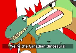 The Canadian Dinosaurs